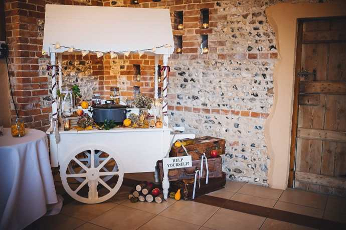The mulled wine cart
