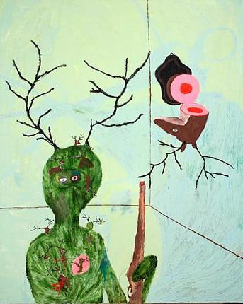 Acrylic on canvas. 160x130cms 2009