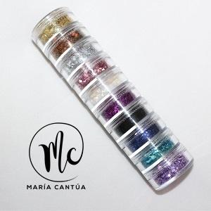 Torre Chunky Glitter María Cantúa