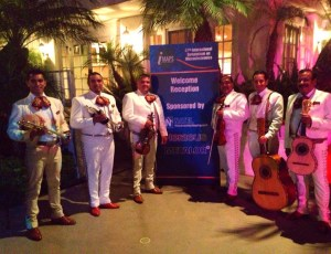 Welcome Reception – Wearing White Suits