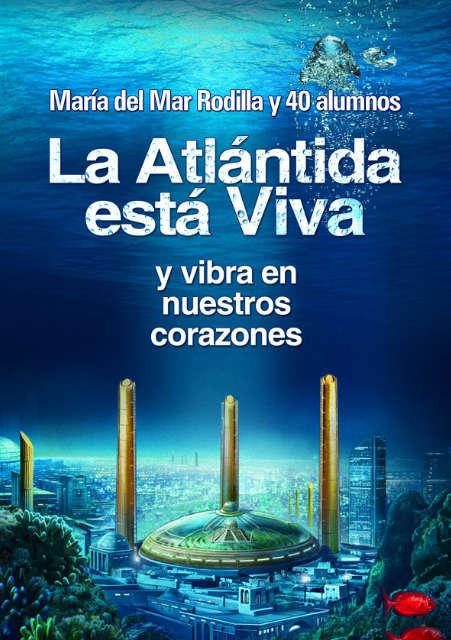 La Atlántida está Viva Carátula Libro