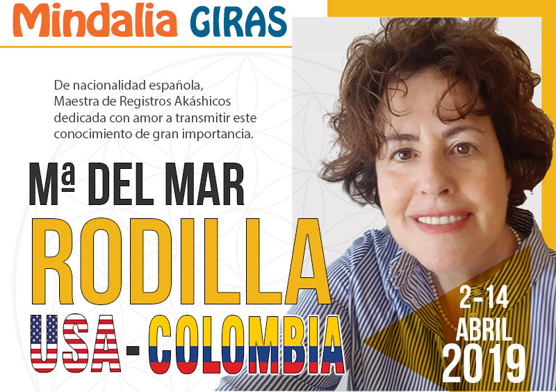 Gira Mindalia USA Colombia Abril 2019