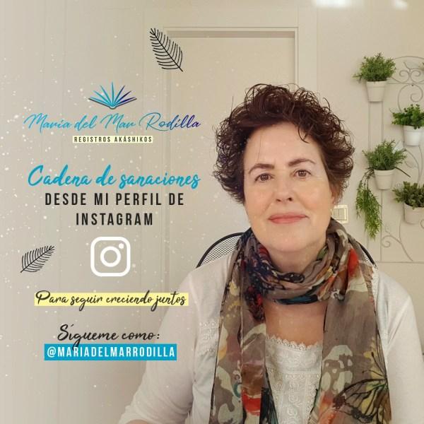 Instagram Cadena de Sanaciones María del Mar Rodilla