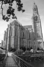 La basilique Luois-Marie de Montfort, Saint-Laurent-sur-Sèvre, la Vendée, dimanche 20 octobre 2013