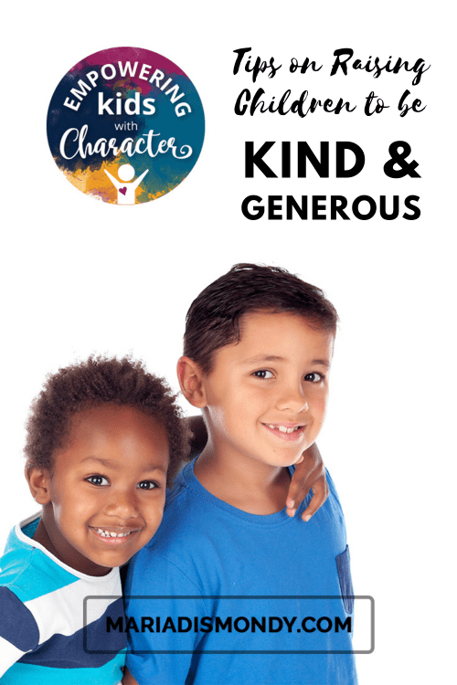 Tips on Raising Children to be Kind and Generous-How do we model behavior and traits to ensure we are passing on these awesome qualities to our children? We're GIFTING you some good ideas today! #TipsonRaisingChildren #Parenting #Kindness #Generosity