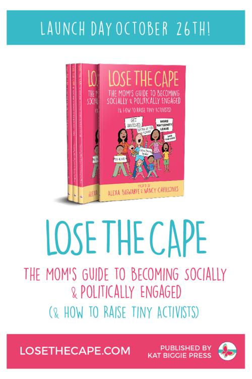 Book Launch-Lose the Cape - mariadismondy.com