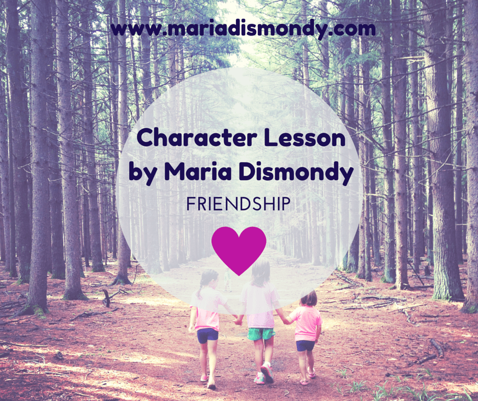 Character Lesson for Mondays-Friendship