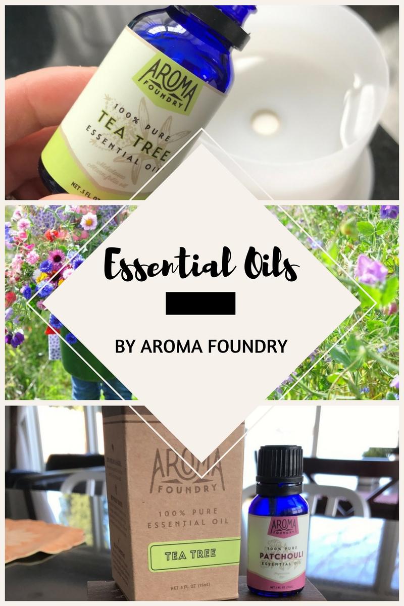 Essential Oils-Aroma Foundry (Review)