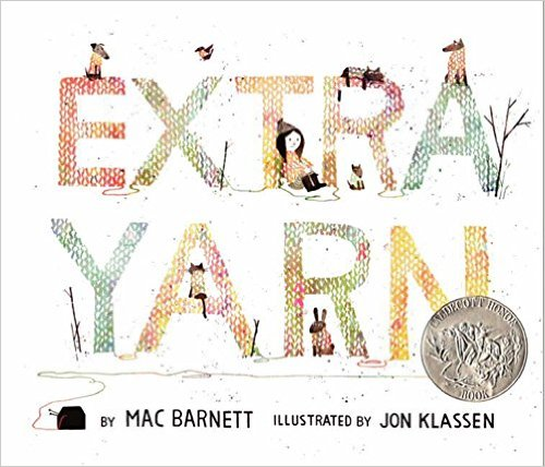 Extra Yarn by Mac Barnett - mariadismondy.com