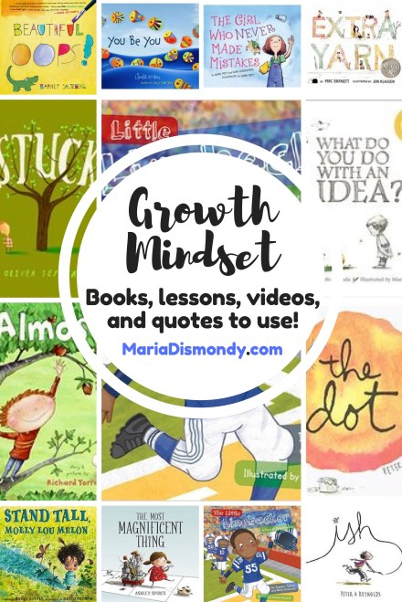 #Growth Mindset Blog Series - mariadismondy.com