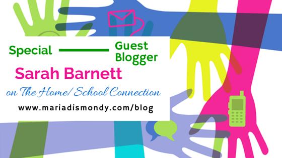 Guest Blogger-Sarah Barnett