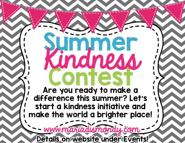 Summer Kindness Contest-LIVE
