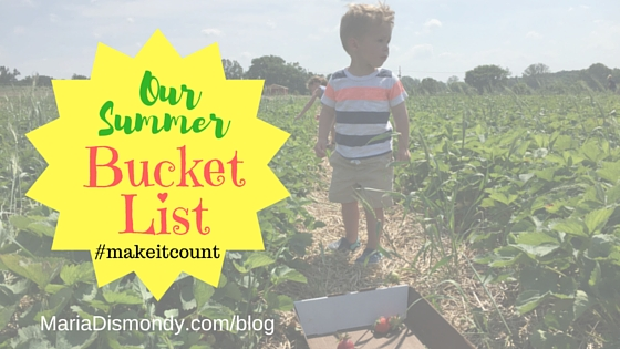 Summer Bucket List Week #10