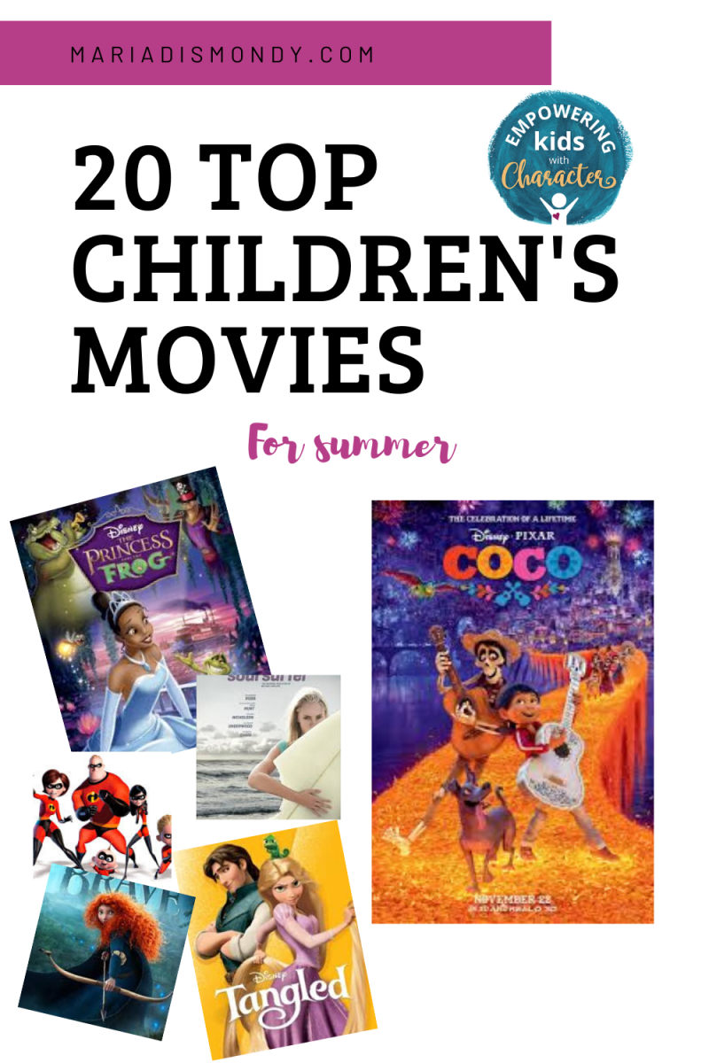 Summer Movies for Children-Summer is the perfect time for family movie nights, but it's easy to feel like you're running out of options. Not to worry, we've compiled a list of 20 of our favorite children's movies. #ChildrensMovies #SummerMovies #SummerActivities