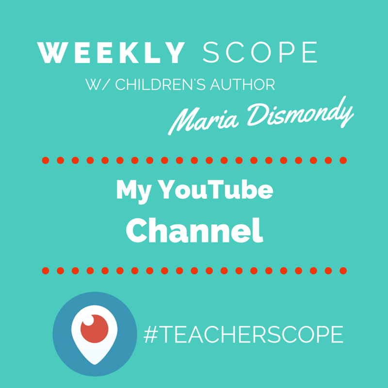 Weekly #teacherscope- My YouTube Channel