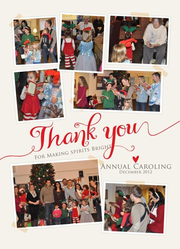 Making Spirits Bright-Annual Christmas Caroling