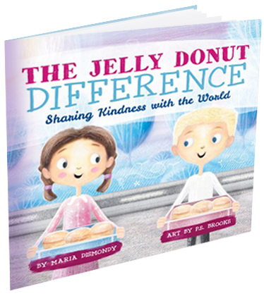 The Jelly Donut Difference, Children's Book by Maria Dismondy