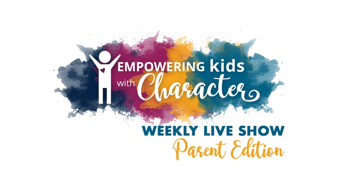 Empowering Kids with Character-Weekly Live Show-Parent Edition | Maria goes live every other week, taking turns between her author Facebook page and her private Empowering Kids with Character Facebook group. | mariadismondy.com