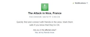 Facebook activa su Safety Check. ¿Qué es?