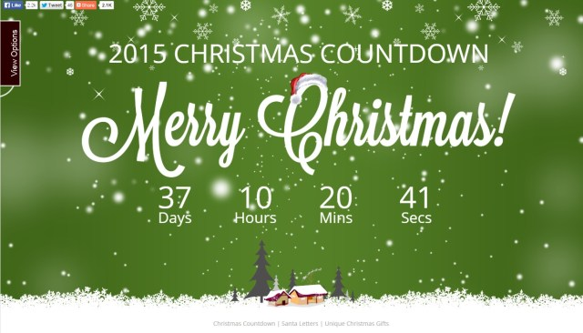 ChristmasDayCountdown