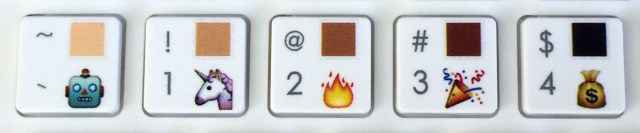 Emoji Keyboard skintone   Maria en la red
