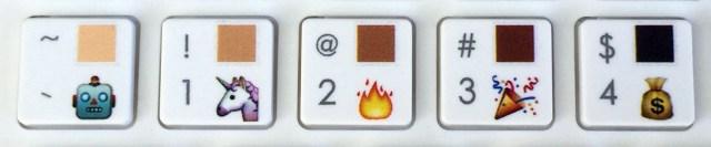 Emoji Keyboard skintone | Maria en la red