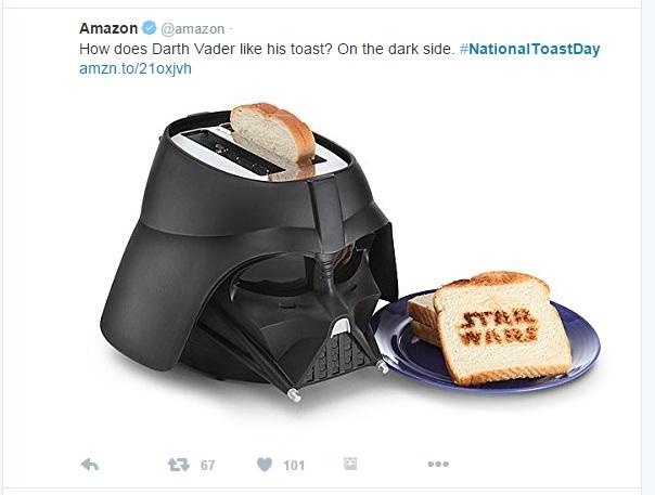 toast amazon