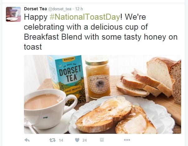 toast dorset