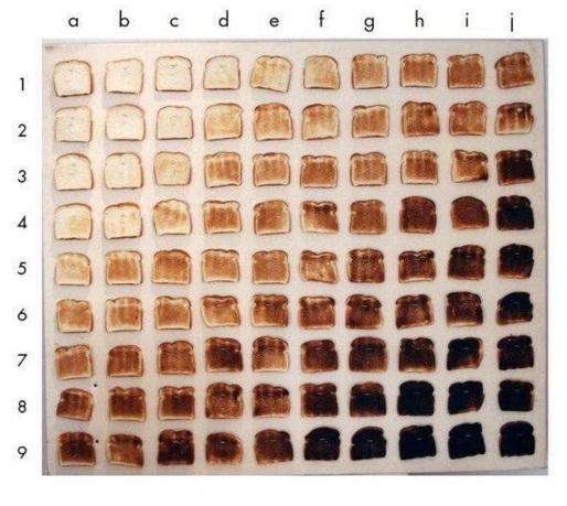 toast grid