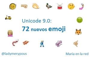 72 nuevos emojis