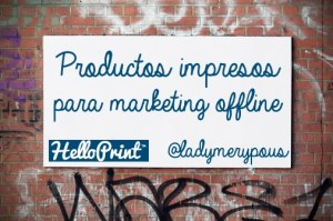 Productos impresos para marketing offline