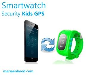 Vigilar a los niños con un smartwatch