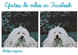 Coming soon: Efectos de vídeo en Facebook