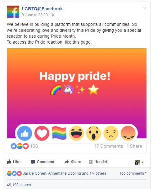 lgbtq facebook maria en la red