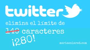 Twitter elimina el límite de 140 caracteres