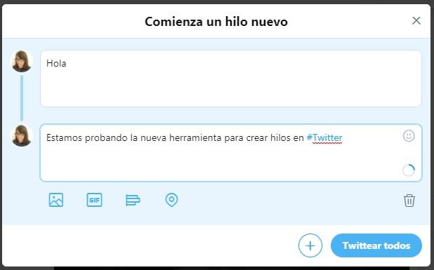 Hilos en Twitter   Maria en la red