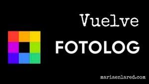 ¡Vuelve Fotolog!