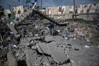 La reconstrucción de Gaza desde el último ataque israelí de 2014 ha sido mínima.