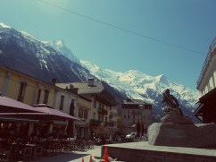 Sping and Wintery Chamonix