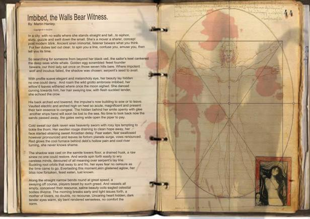 Imbibed, the Walls Bear Witness