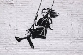 Banksy's graffiti