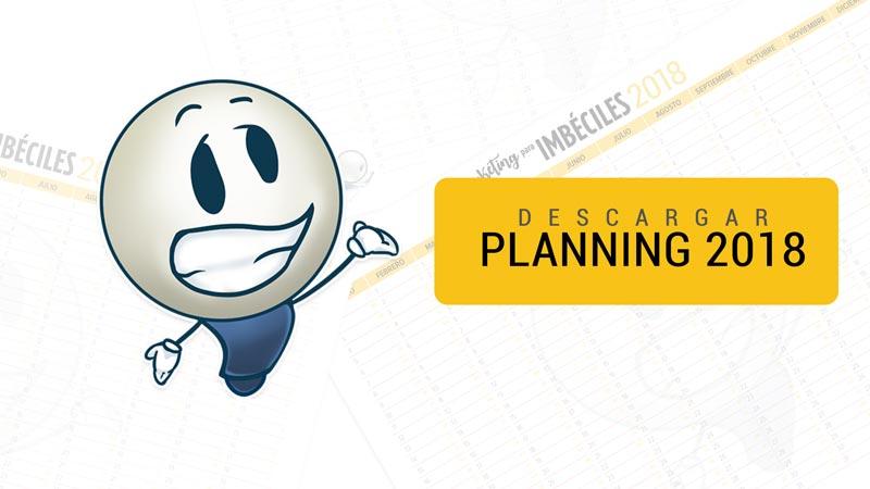 Planning 2018 Marketing