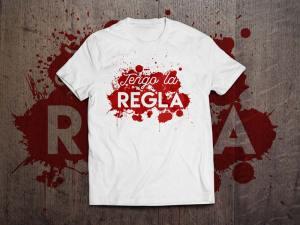 Camiseta Tengo la regla, de María Fornieles