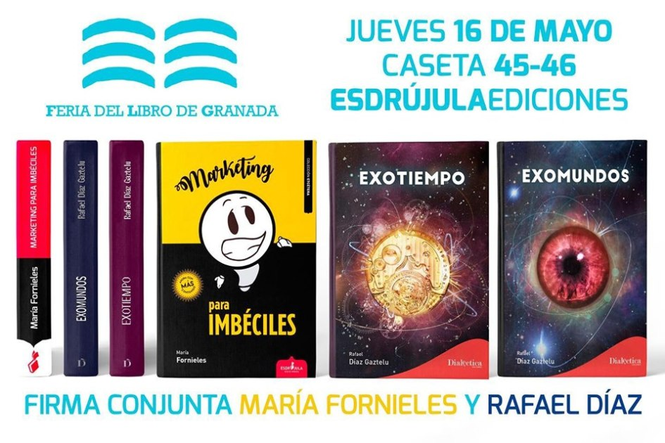 María Fornieles en la Feria del Libro de Granada