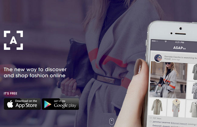 ASAP54 Online Shopping Fashion app Maria Frangieh