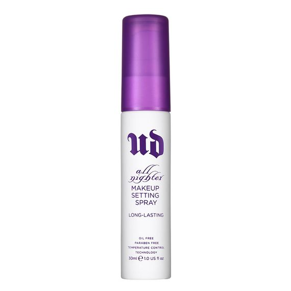 All nighter makeup setting spray urban decay maria frangieh blogger lebanon