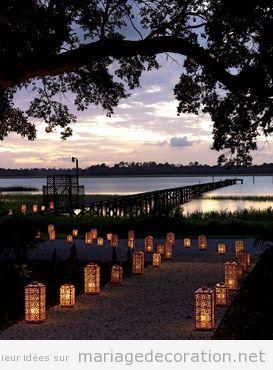 Idee Deco Lanterne Dcoration De Table De Mariage Envoi