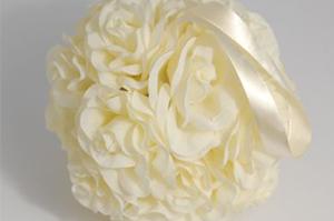 Boules de roses Cérémonie Lot de 10 - 45€-
