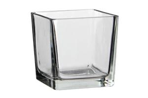 Petit vase carré Soliflore 2€-