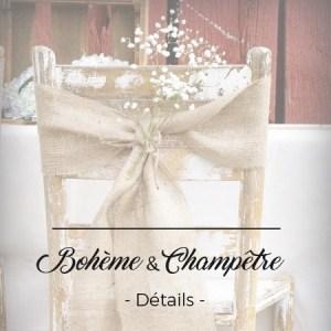 boheme champêtre décoration mariage toulouse événement